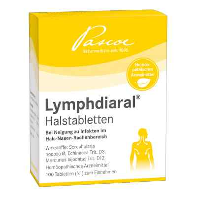 Lymphdiaral Halstabletten  bei deutscheinternetapotheke.de bestellen