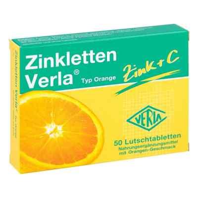 Zinkletten Verla Orange Lutschtabletten  bei deutscheinternetapotheke.de bestellen