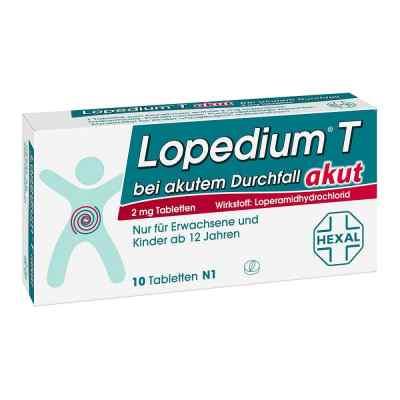 Lopedium T akut bei akutem Durchfall  bei deutscheinternetapotheke.de bestellen