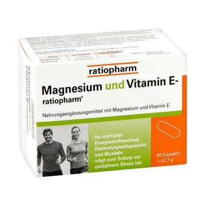 Magnesium Und Vitamin E ratiopharm Kapseln  bei deutscheinternetapotheke.de bestellen