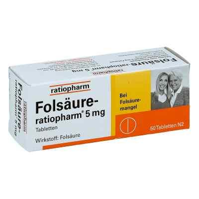Folsäure Ratiopharm 5 mg Tabletten  bei deutscheinternetapotheke.de bestellen