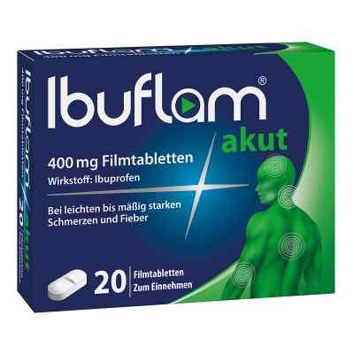Ibuflam Akut 400 mg Ibuprofen Schmerztabletten  bei deutscheinternetapotheke.de bestellen