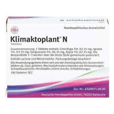 Klimaktoplant N Tabletten  bei deutscheinternetapotheke.de bestellen