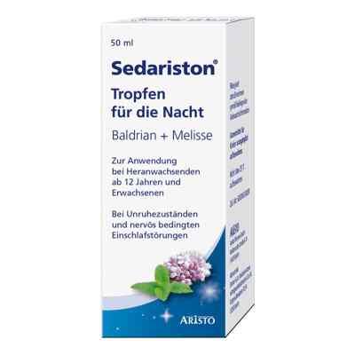 Sedariston Tropfen für die Nacht Baldrian + Melisse  bei deutscheinternetapotheke.de bestellen
