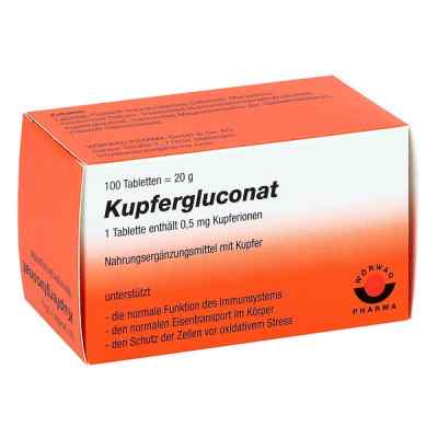 Kupfergluconat Tabletten  bei deutscheinternetapotheke.de bestellen
