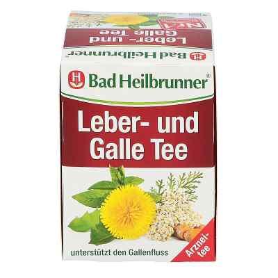 Bad Heilbrunner Tee Leber und Galle Filterbeutel  bei deutscheinternetapotheke.de bestellen