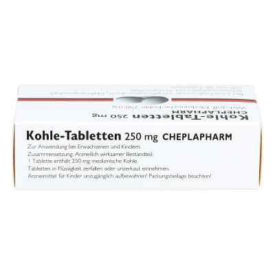 Kohle-Tabletten 250mg  bei deutscheinternetapotheke.de bestellen