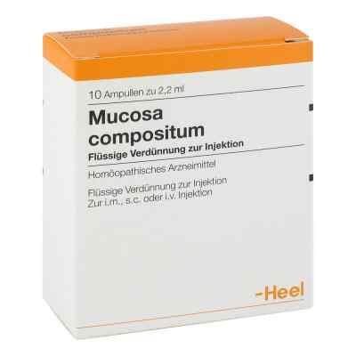 Mucosa Compositum Ampullen  bei deutscheinternetapotheke.de bestellen