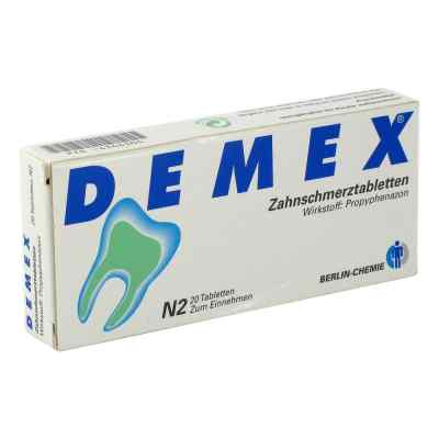 DEMEX Zahnschmerztabletten  bei deutscheinternetapotheke.de bestellen