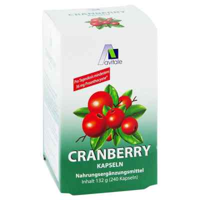 Cranberry Kapseln 400 mg  bei deutscheinternetapotheke.de bestellen