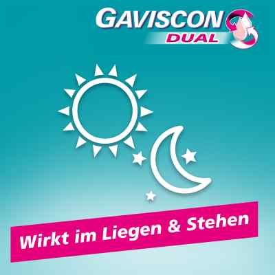 Gaviscon Dual 500mg/213mg/325mg Suspens.im Beutel  bei deutscheinternetapotheke.de bestellen