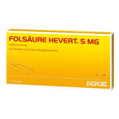 Folsäure Hevert 5 mg Ampullen  bei deutscheinternetapotheke.de bestellen