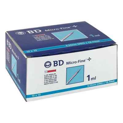 Bd Micro-fine+ U 40 Ins.spr. 12,7 mm  bei deutscheinternetapotheke.de bestellen