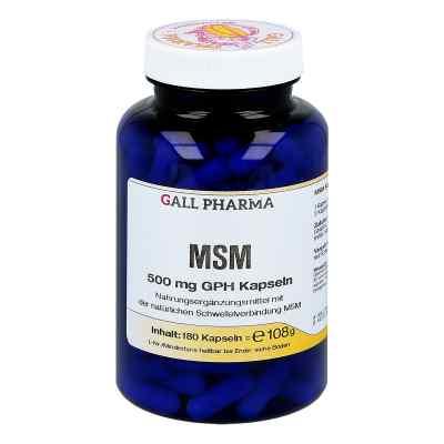 Msm 500 mg Gph Kapseln  bei deutscheinternetapotheke.de bestellen