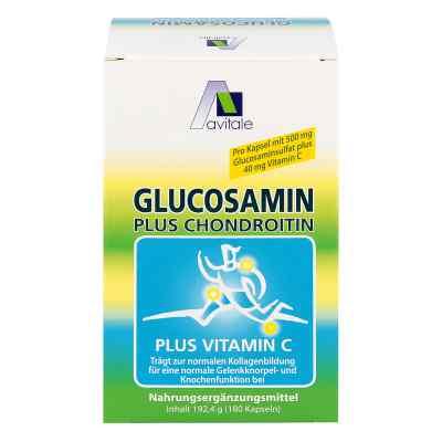Glucosamin 500 mg+Chondroitin 400 mg Kapseln  bei deutscheinternetapotheke.de bestellen