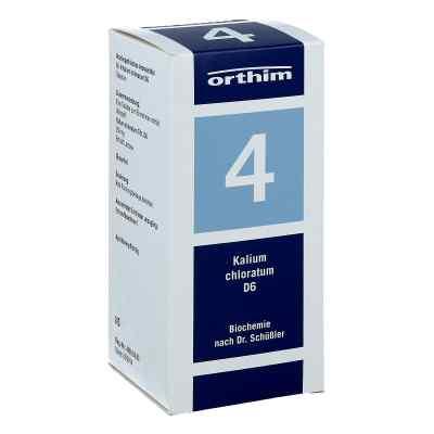 Biochemie Orthim 4 Kalium chloratum D 6 Tabletten  bei deutscheinternetapotheke.de bestellen