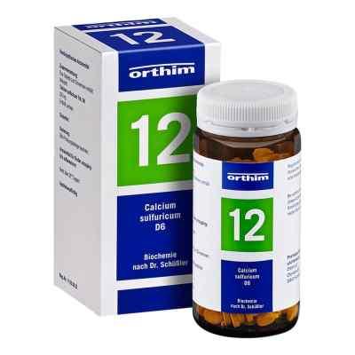 Biochemie Orthim 12 Calcium sulfuricum D 6 Tabletten   bei deutscheinternetapotheke.de bestellen