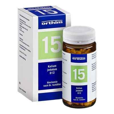 Biochemie Orthim 15 Kalium jodatum D 12 Tabletten  bei deutscheinternetapotheke.de bestellen