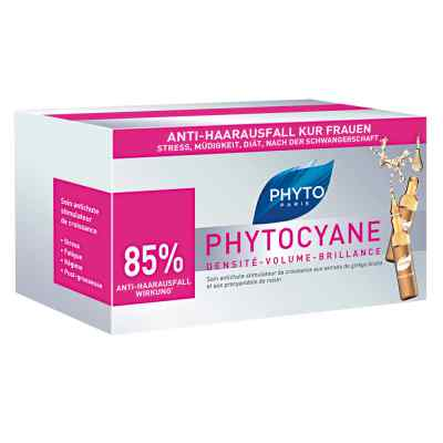 Phyto Phytocyane Kur Anti-haarausfall Frauen Ampullen  bei deutscheinternetapotheke.de bestellen