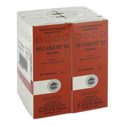 Mucokehl Tabletten D5  bei deutscheinternetapotheke.de bestellen