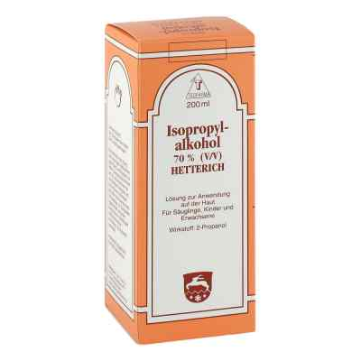 Isopropylalkohol 70% V/v Hetterich  bei deutscheinternetapotheke.de bestellen