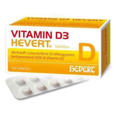Vitamin D3 Hevert Tabletten  bei deutscheinternetapotheke.de bestellen