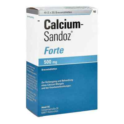 Calcium-Sandoz forte 500mg  bei deutscheinternetapotheke.de bestellen