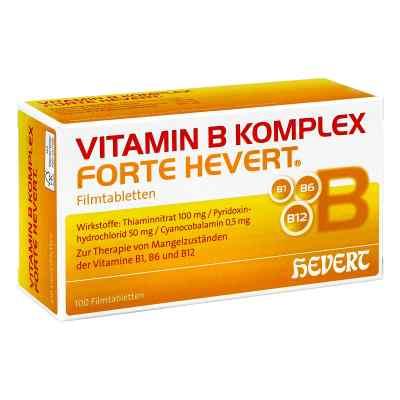 Vitamin B Komplex forte Hevert Tabletten  bei deutscheinternetapotheke.de bestellen