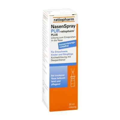 Nasenspray pur ratiopharm plus  bei deutscheinternetapotheke.de bestellen