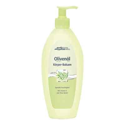 Olivenöl Körper-balsam im Spender  bei deutscheinternetapotheke.de bestellen