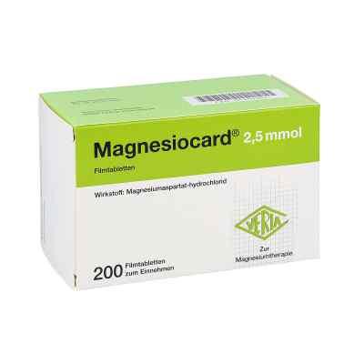 Magnesiocard 2,5 mmol Filmtabletten  bei deutscheinternetapotheke.de bestellen