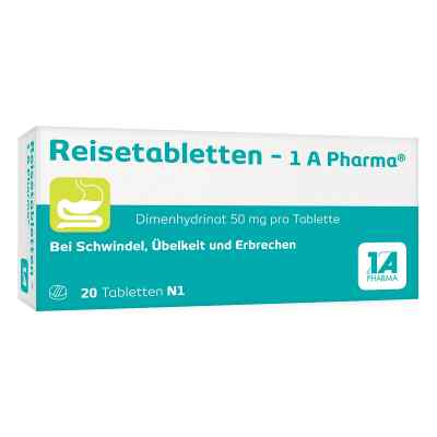 Reisetabletten-1A Pharma  bei deutscheinternetapotheke.de bestellen