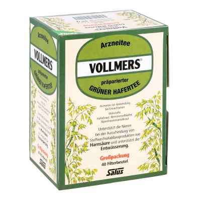 Vollmers präparierter grüner Hafertee Filterbeutel  bei deutscheinternetapotheke.de bestellen