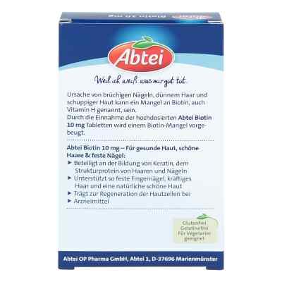 Abtei Biotin 10 mg Tabletten  bei deutscheinternetapotheke.de bestellen