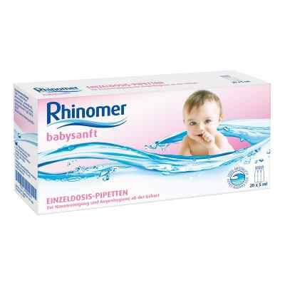 Rhinomer babysanft Meerwasser 5ml Einzeldosispipetten  bei deutscheinternetapotheke.de bestellen