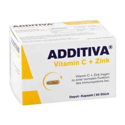 Additiva Vitamin C+zink Depotkaps.aktionspackung  bei deutscheinternetapotheke.de bestellen