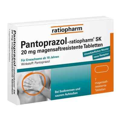 Pantoprazol-ratiopharm SK 20mg  bei deutscheinternetapotheke.de bestellen
