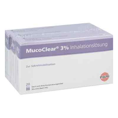 Mucoclear 3% Nacl Inhalationslösung  bei deutscheinternetapotheke.de bestellen