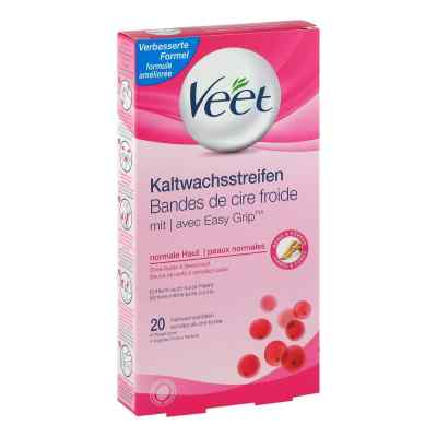 Veet Kaltwachs-streifen normale Haut  bei deutscheinternetapotheke.de bestellen
