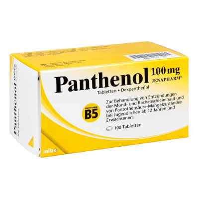 Panthenol 100 mg Jenapharm Tabletten  bei deutscheinternetapotheke.de bestellen