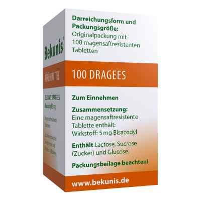Bekunis Dragees Bisacodyl 5mg  bei deutscheinternetapotheke.de bestellen