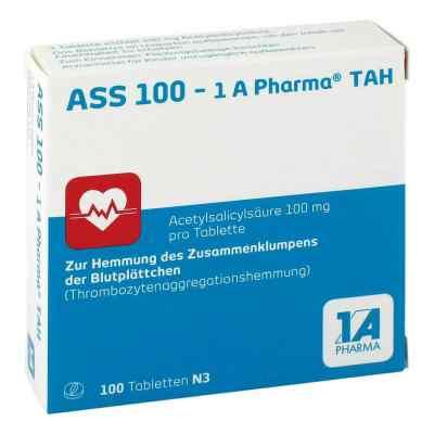 ASS 100-1A Pharma TAH  bei deutscheinternetapotheke.de bestellen