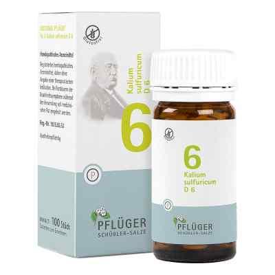 Biochemie Pflüger 6 Kalium Sulfur D6 Tabletten  bei deutscheinternetapotheke.de bestellen