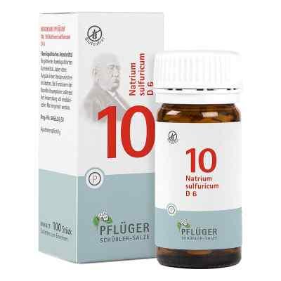 Biochemie Pflüger 10 Natrium Sulfur D6 Tabletten  bei deutscheinternetapotheke.de bestellen