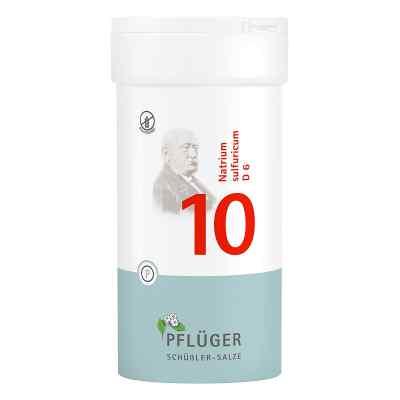 Biochemie Pflüger 10 Natrium Sulfur D  6 Tabletten  bei deutscheinternetapotheke.de bestellen