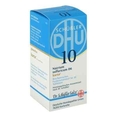 Biochemie Dhu 10 Natrium Sulfur D6 Karto Tabletten  bei deutscheinternetapotheke.de bestellen