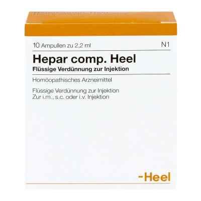 Hepar Comp.heel Ampullen  bei deutscheinternetapotheke.de bestellen