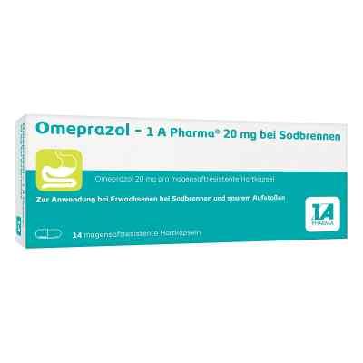 Omeprazol-1A Pharma 20mg bei Sodbrennen  bei deutscheinternetapotheke.de bestellen