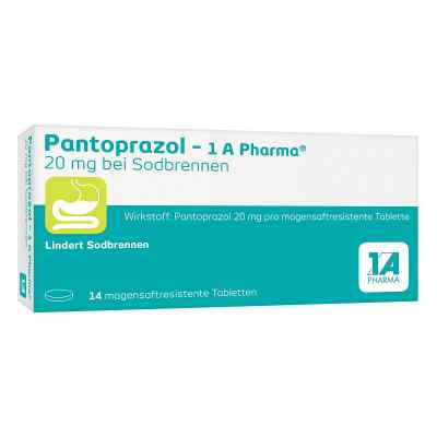 Pantoprazol-1A Pharma 20mg bei Sodbrennen  bei deutscheinternetapotheke.de bestellen