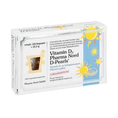 Vitamin D3 Pharma Nord Kapseln  bei deutscheinternetapotheke.de bestellen